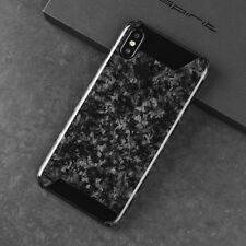 Real Carbon Fiber Forged Composite Mobile Phone Case Half Cover For iPhone X
