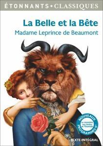 La Belle et la Bête et autres contes - MADAME LEPRINCE DE BEAUMONT - LIVRE - TBE