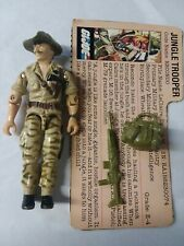 GI Joe 1984 Vintage Recondo Jungle Trooper Complete + Filecard