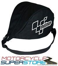 MOTOGP MOTORCYCLE MOTOBIKE SCOOTER MESSENGER STORAGE HELMET BAG HOLDER