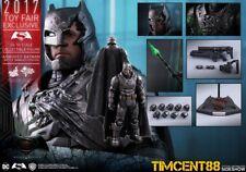 Ready Hot Toys Battle Damaged Version Armored Batman v Superman Dawn of Justice