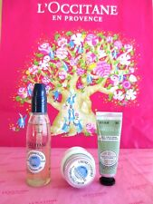 L'OCCITANE Cleansing Oil Amande Delicious Hands Nail Light Comforting Cream  SET