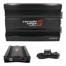 Cerwin-Vega Cvp2000.1D 1 Channel 2000W 2-Ohm Stable Class D Monoblock Amplifier