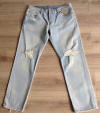LEVI'S 501 JEANS CT SIZE 30 x 28 FADED DISTRESSED NEW WITH TAG SEE DESCRIPTION