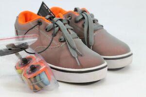 Heelys Launch Boy's Youth Charcoal/Orange Sneakers 3M(ZAP8067)