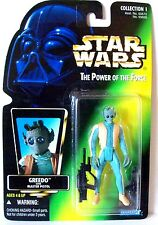 Star Wars Power of the Force GREEDO Green Card
