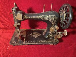Belle & Ancienne machine à coudre Singer  Deco Couture vintage XIX eme XX eme