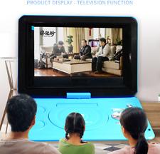 "13.9"" Portable DVD Player HD CD FM Radio TV Player 16:9 LCD Games Screen Play"