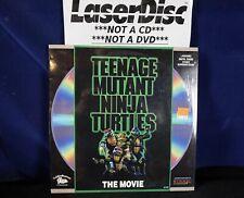*LASERDISC* TEENAGE MUTANT NINJA TURTLES The Movie/SHRINK/MINT (5+=Free USPS)