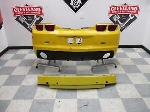 2010-2013 Chevrolet Camaro SS OEM Rear Bumper Assembly w/ Park Assist UD7 Yellow