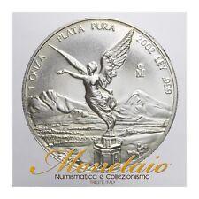 (Monetaio) Mexico 1 Onza 2002 Libertad Silver KM# 639