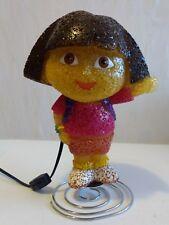 Dora The Explorer Popcorn Lamp Night Light Melted Plastic