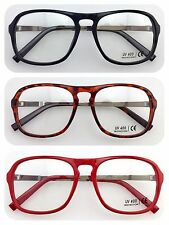 Y1160 Optical Clear Lens Glasses/Large Frame/Unisex/Party&Fun Wear/Super Fashion
