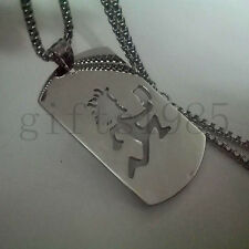 "NEW Hatchet man ICP music charm twiztid stainless steel pendant 30"" necklace"