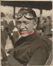 1922 Indianapolis 500 winner JIMMY MURPHY Signed 8 X 10 Antique Race Photo RP