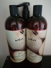 NEW! SEALED! WEN FALL FRESH APPLE Cleansing Conditioner 2x 32oz = HALF GALLON!