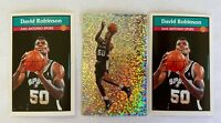 1992/93 PANINI STICKERS LOT OF 3 DAVID ROBINSON  INCLUDES FOIL #99