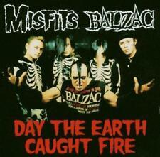 Misfits / Balzac - Day The Earth Caught Fire (Split) (NEW CD SINGLE)
