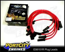 Eagle Spark Plug Leads Holden V8 9mm Commodore Socket Type RED EFI VN-VT E98101R