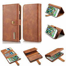 Three Folds Leather Wallet Flip Kickstand Phone Case For APPLE IPhone 7 8 Plus