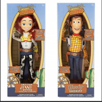 """WOODY Toy Story 3 Pull String JESSIE 16"""" Talking Action Figure Doll Kids Toys"""