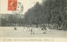 CP TOURS COUR DE LA CASERNE BARAGUEY-D'HILLIERS COTE EST LL