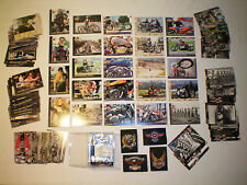 Official Harley Davidson Collectors Series Trading 90 Cards Set W/ Patches