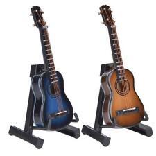 Miniature Classical Guitar Model Mini Wooden Guitar Desktop Decoration Ornaments