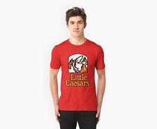 LITTLE CAESARS PAPA JOHNS EL JEFE PIZZA RED T-Shirt S-2XL. BLACK WHITE Ready.arx