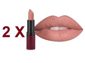 Golden Rose Velvet Matte Lipstick High Coverage 2 X №01