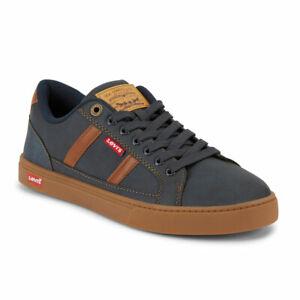 Levi's Mens Fairway FM Gum Synthetic Vegan Leather Casual Lace-up Sneaker Shoe