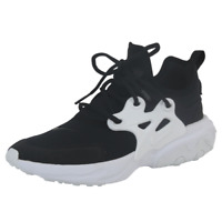 Nike React Presto GS Boys Shoes BQ4002 001 Running Athletic Black White 7Y=8.5W