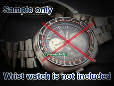19mm Fishbone Solid Stainless Steel 0457B Bracelet For 6138-0011 6138-7000