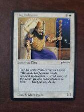 MTG KING SULEIMAN, white card, Arabian Nights, good condition