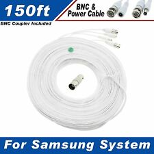 150 Ft Security Camera Cable for Samsung SDE-3004N & Other Security System