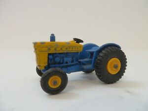 Matchbox 1-75 No.39 Ford Tractor Yellow Blue Lesney Vintage Diecast England