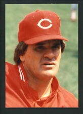 Pete Rose Press Original COLOR Photo 5 x 7 Cincinnati Reds 1980's head shot