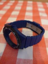 "Fortis Colors (Blau) Wechselarmband, Original Fortis, für ""Flipper"" Uhrwerk"