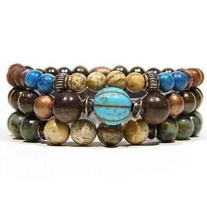 Bracelet 3in1 Turquoise Melon for Men and Women - Armband für Damen und Herren
