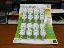GE Energy Smart 60 8-Pack Light Bulbs 13 = 60 Watt. 31064 Cfl Soft White