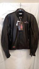 "Leather Motorcycle Jacket ""Orange County Choppers"""