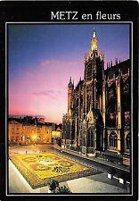 B49570 Metz tapis floral  france
