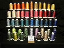 48 - FUFU's Embroidery Thread - Rayon - FFL107 - No Duplicate Colors