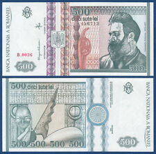 RUMÄNIEN / ROMANIA 500 Lei 1992  UNC  P. 101 b