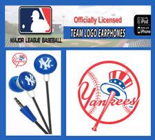 MLB Baseball New York Yankees Licensed Earbuds