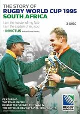 The Story Of Rubgy World Cup 1995 - South Africa (DVD, 2010, 2-Disc Set) Reg 4