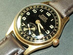 GORGEOUS vintage Anker 21 Rubis Stossgesichert Wasserdicht mens wristwatch