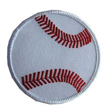 """2740B 3"""" Embroidery Iron On/Sew On Baseball Applique Patch"""