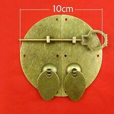 "Chinese style furniture hardware iron door knocking pull 3.93"" & bolt"