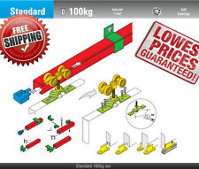 STANDARD Soft Closing system Sliding Door Gear System 100 kg  / 2000 mm (1 door)